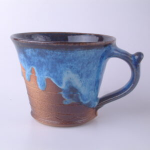Mug Rustic Electric Blue