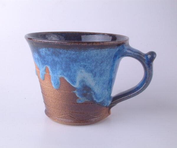 Mug Rustic Electric Blue